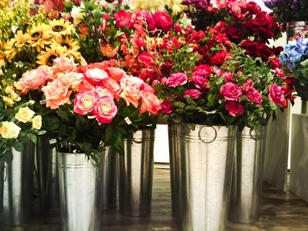 the fresh of the flower vases photo