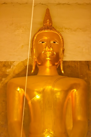 The Buddha statue - Phra-Prang-Lay-Lai. photo