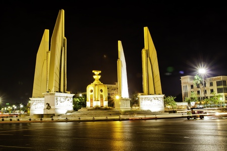 The Democracy Monument (Thai: Anusawari Prachathipatai) is a public monument in the centre of Bangkok, capital of Thailand.