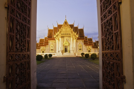Wat Benchamabophit Dusitvanaram is a Buddhist temple (wat) in the Dusit district of Bangkok, Thailand. Also known as the marble temple, it is one of Bangkoks most beautiful temples and a major tourist attraction. It typies Bangkoks ornate style of high