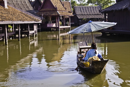 The Ancient City - the floating market.