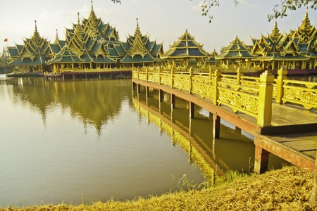The Ancient City - the golden temple.