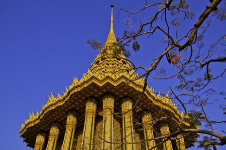 Phra Phutthabat at Saraburi of Thailand.