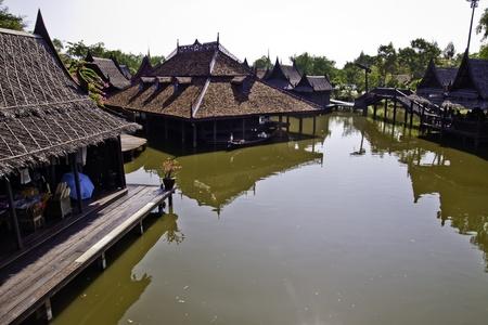 The Ancient City at Samutprakarn of Thailand Stock Photo