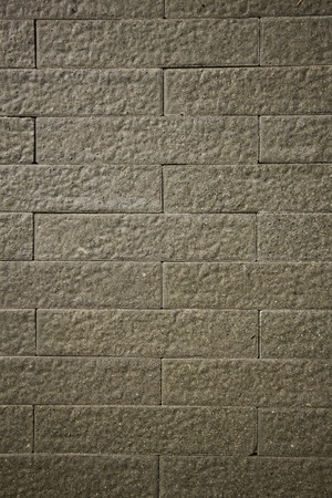 The brown tile texture as the background of artwork design. photo