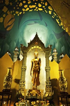 The exotic heaven level at the Erawan Museum of Samutprakarn Thailand