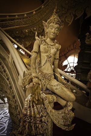 The exotic stairway at the Erawan Museum of Samutprakarn Thailand