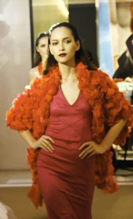 BANGKOK - MARCH 13: LOfficiel, the French fashion magazine, organizes the fashion show at Gaysorn Plaza on March 13, 2012 in Bangkok.