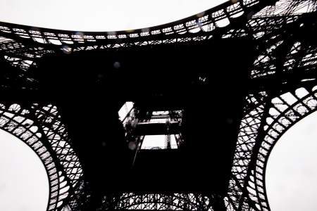 The Eiffel Tower ,La Tour Eiffel, nickname La dame de fer, the iron lady) is an iron lattice tower located on the Champ de Mars in Paris, named after the engineer Gustave Eiffel, whose company designed and built the tower.