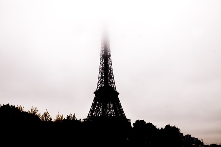 The Eiffel Tower ,La Tour Eiffel, nickname La dame de fer, the iron lady) is an iron lattice tower located on the Champ de Mars in Paris, named after the engineer Gustave Eiffel, whose company designed and built the tower. photo