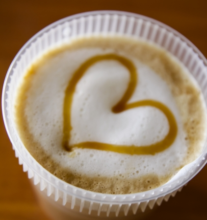 The Heart of Coffee.