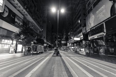 HONG KONG - JANUARY 6 : Nathan Road on January 6,2013. It is the main thoroughfare in Kowloon, Hong Kong