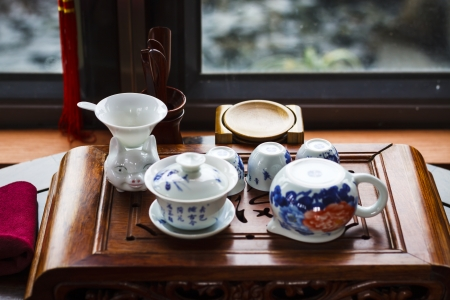 traditional Chinese tea culture Stock Photo