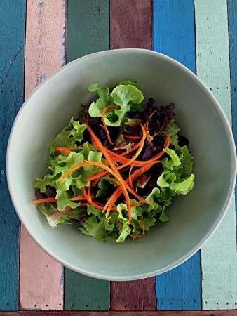 The veggy bowl.