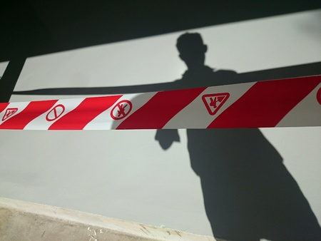 no trespassing: Prohibido el paso