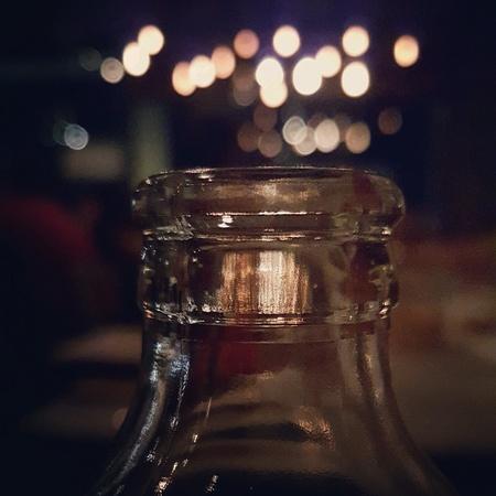 The Bokeh of Soda bottle