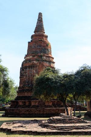 phra nakhon si ayutthaya: City building remain of Wat Phra Sri Sanphet Temple in Ayutthaya, Thailand Phra Nakhon Si Ayutthaya