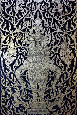 プラパトムチェディ, ナコーンパトム タイでタイ風ライン アート