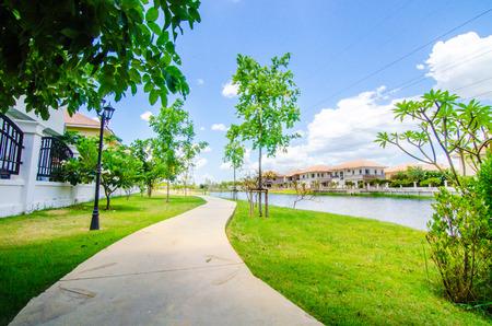 riverside landscaping: Garden River,garden, lakeside, park,