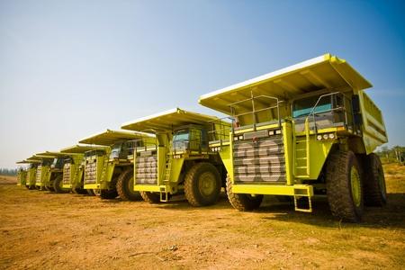 yellow truck Stock Photo - 9401353
