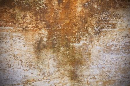 oxidado: Textura del antiguo muro de grunge roya Foto de archivo