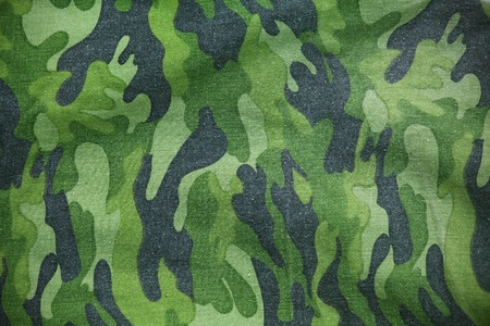 undercover: Military fabric pattern