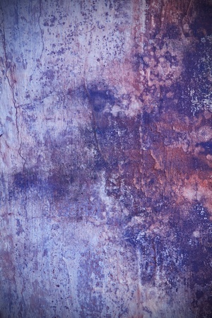 Texture of old grunge rust wall Stock Photo - 9407200