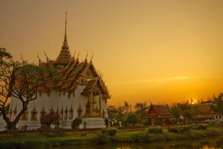 bangkok temple: ancient city,Ayutthaya Thailand