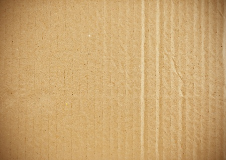 ship package: piece of corrugated cardboard