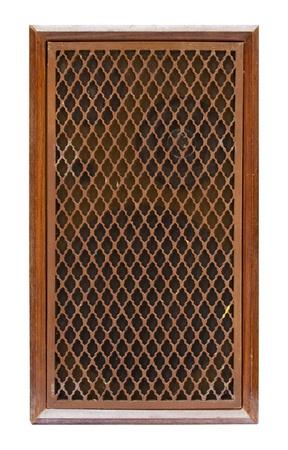 old speaker isolated Stock Photo - 9443101