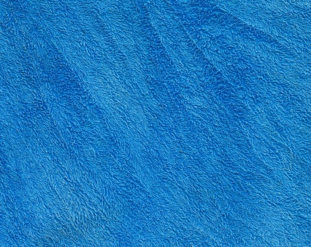 Blue fabric texture background photo