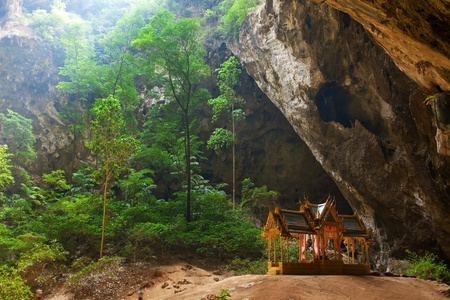Pavillon in Phraya Nakorn cave,Thailand photo