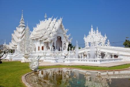 thailand art: Wat Rong Khun, Chiang Rai province, northern Thailand