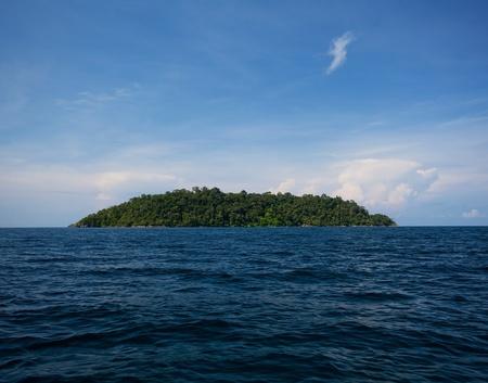 Beautiful tropical island with blue sky Stock Photo - 9503473