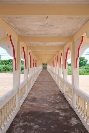 Corridor in Wat thai photo