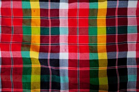 tartan pattern photo