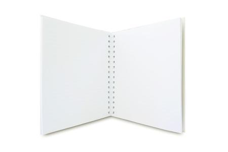 blank notebook Stock Photo - 9581332
