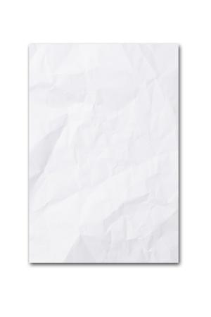 paper curl: papel en blanco