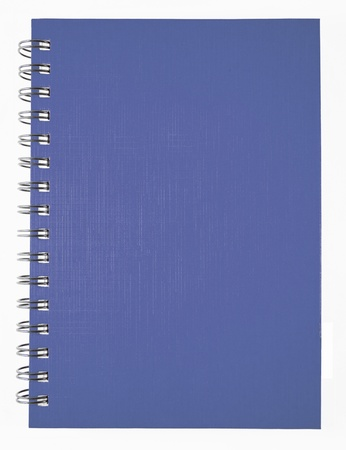 Blue notebook photo