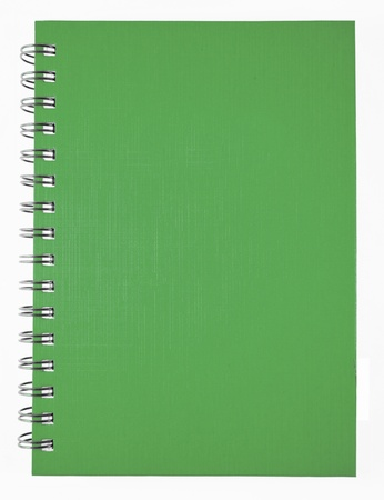 green notebook Stock Photo - 9581382