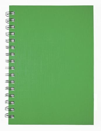 green notebook photo