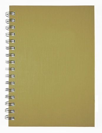brown notebook Stock Photo - 9578279