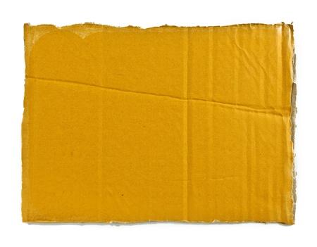 piece of corrugated cardboard photo