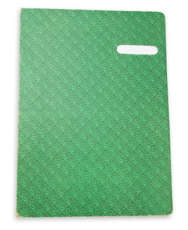 Green Notebook  Stock Photo - 9578491