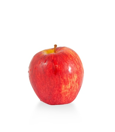 apple red: red apple isolated