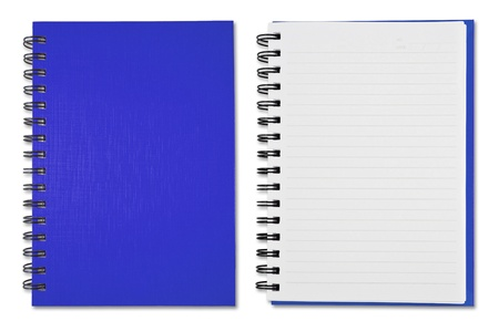 Blue Blank Note Book Stock Photo - 9659146