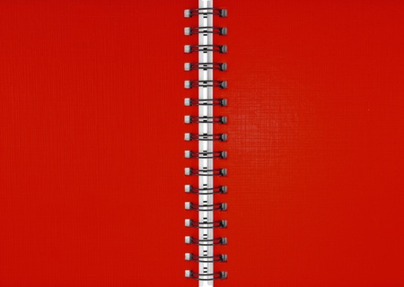 Red notebook photo