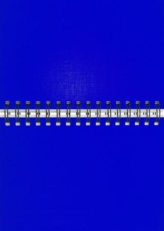 Blue notebook Stock Photo - 9659171