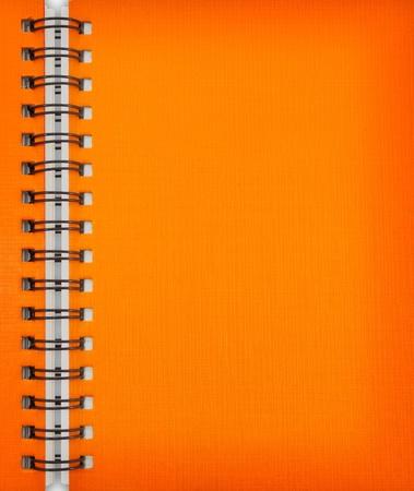Orange notebook Stock Photo - 9659388