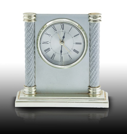 old time: Old time analog clock